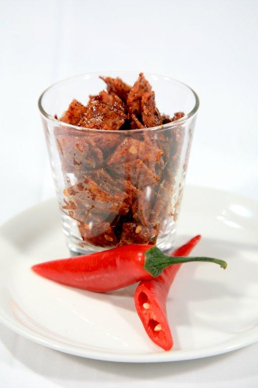 Chilimarinoitua salamia