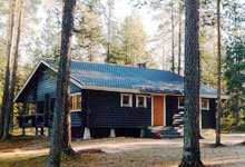 Sauna lodge