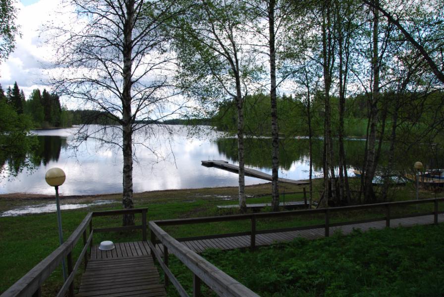 The shore of the public sauna