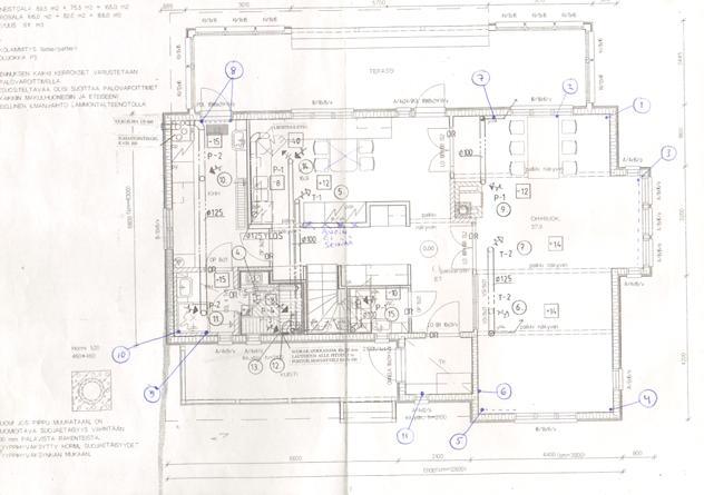 Floor plan -downstairs