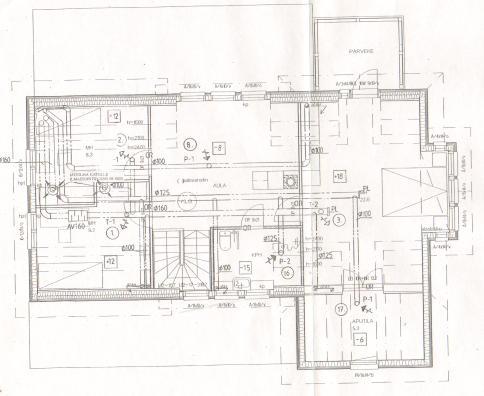 Floor plan -upstairs