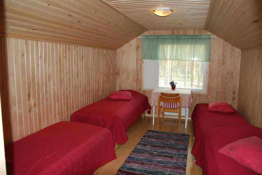 3. bedroom/alcov upstairs only curtain as a door
