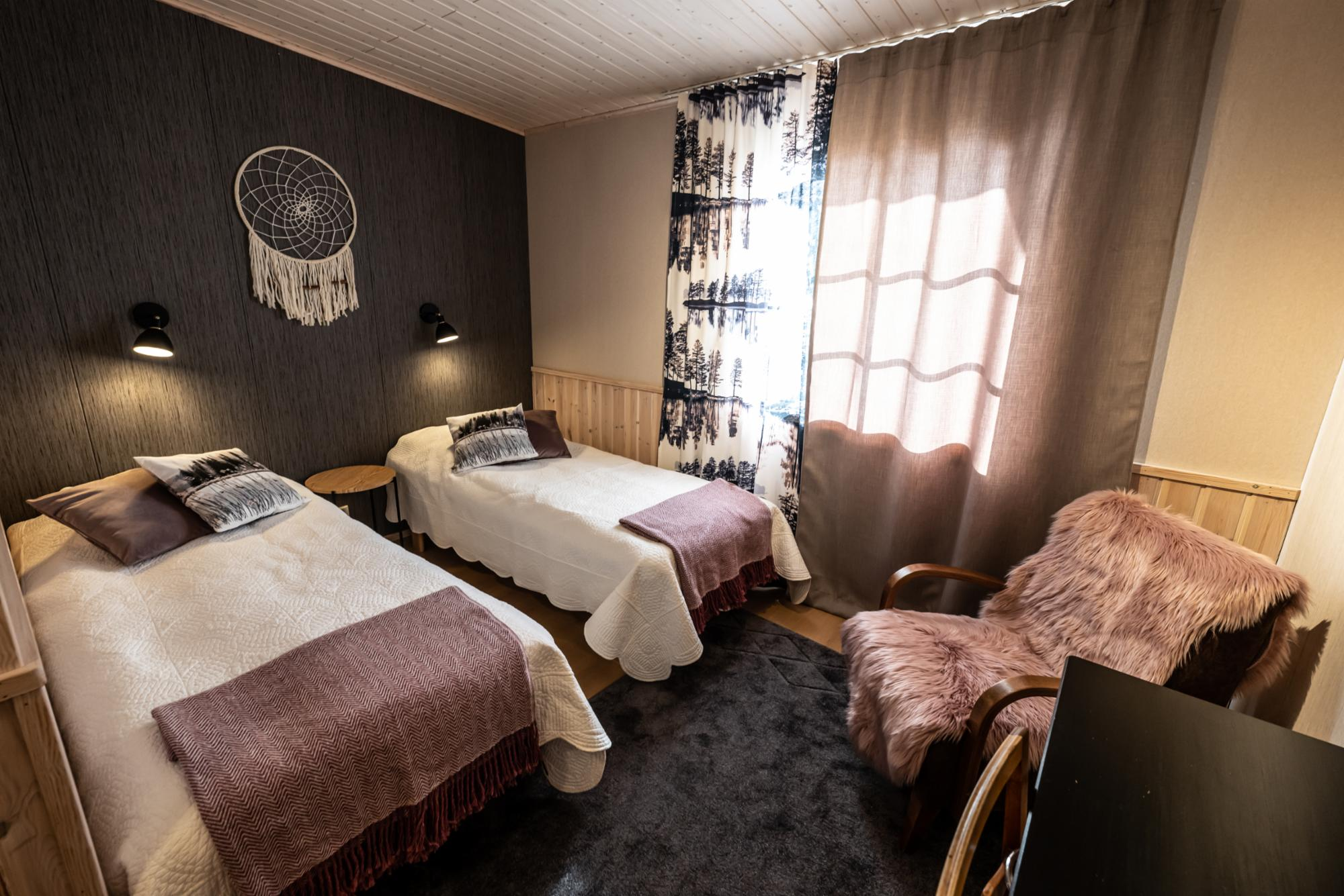 Room for two persons in Kortteeri