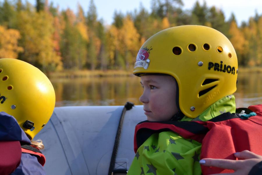 RIVER RAFTING ADVENTURE - FAMILY ROUTE (Käylä-Juuma)