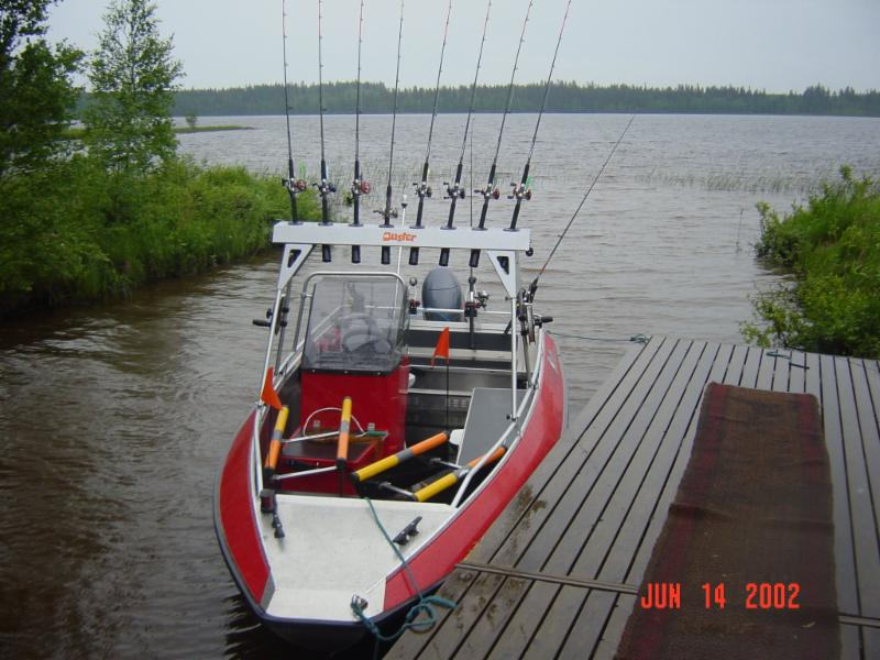 Buster L Special + Yamaha 50 hp uisteluvarustein Ouluvesi