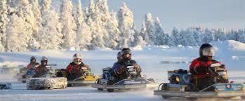 Ice karting (winter)