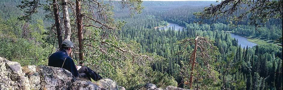 Oulangan kansallispuisto - luontokeskusvierailu, nuoriso (ympärivuotinen)
