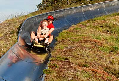 Ruka Summer Slegde Track (summer season)