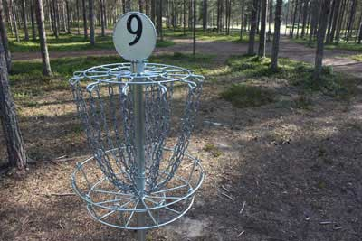 Disc Golf (summer season)