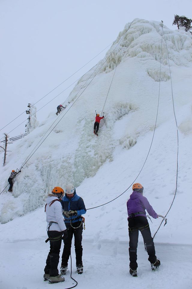 Ice Climbing (winter)