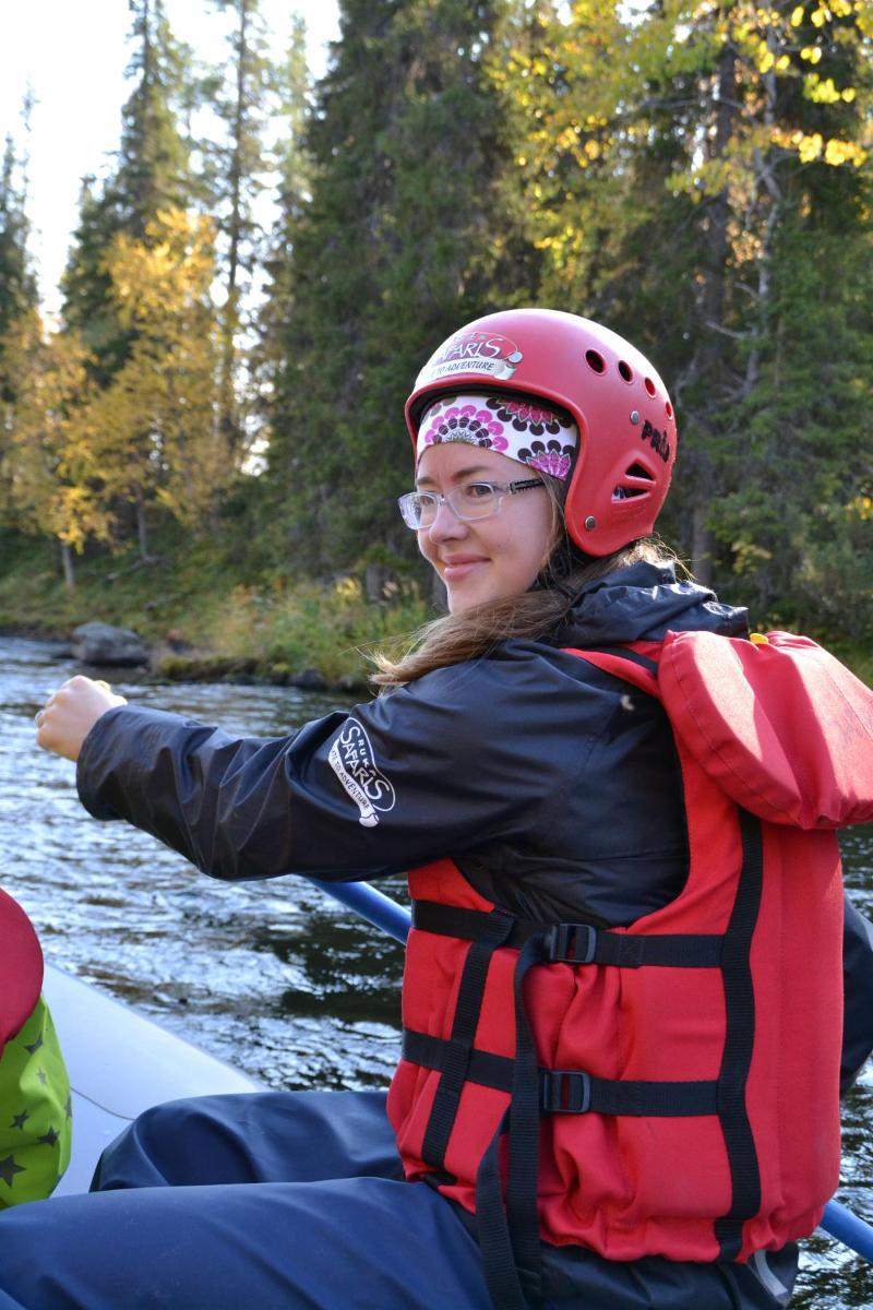 RIVER RAFTING ADVENTURE IN WILD ROUTE K-18 (Juuma-Jyrävä-Jelestimä)