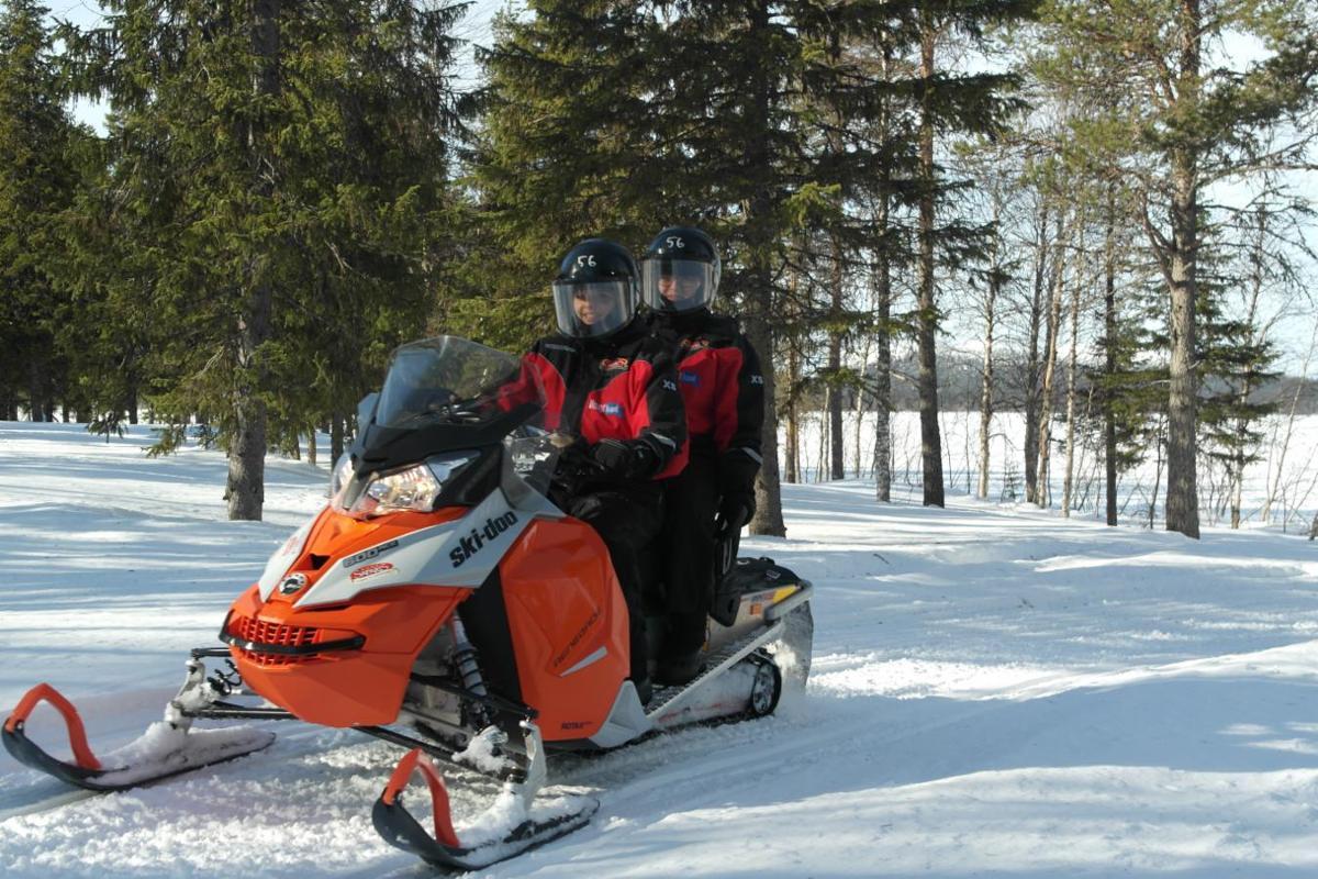 Снегоходное сафари 20 км