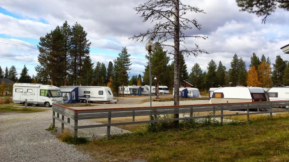 Caravan vierailijapaikka