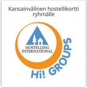 Kansainvälinen hostellikortti ryhmälle (jäsenhinta)