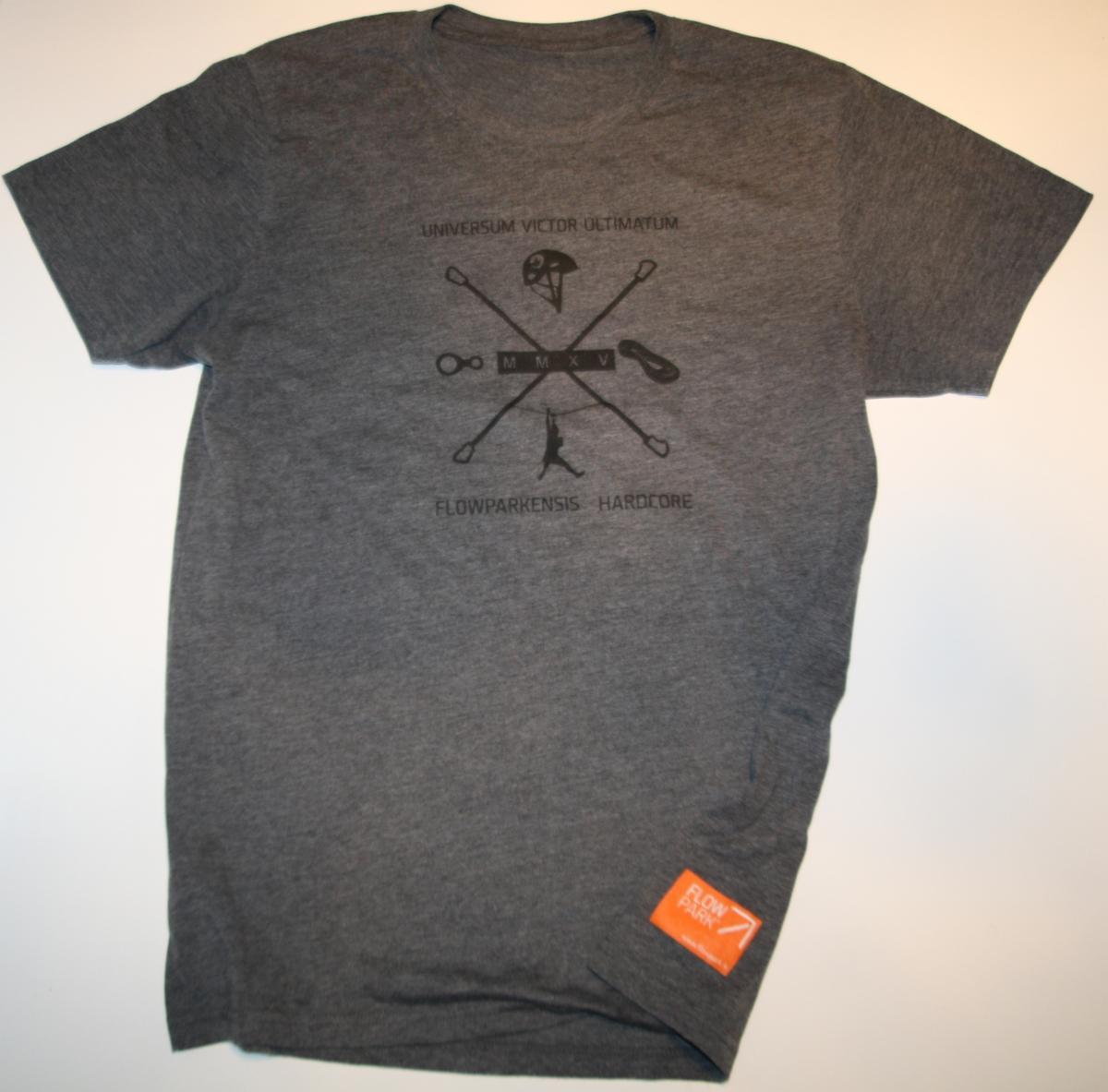 T-paita, Flowparkaensis hardcore miehille