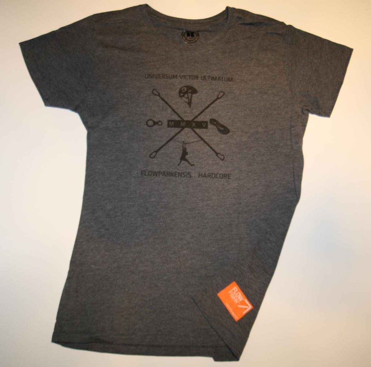 T-paita, Flowparkaensis hardcore naisille