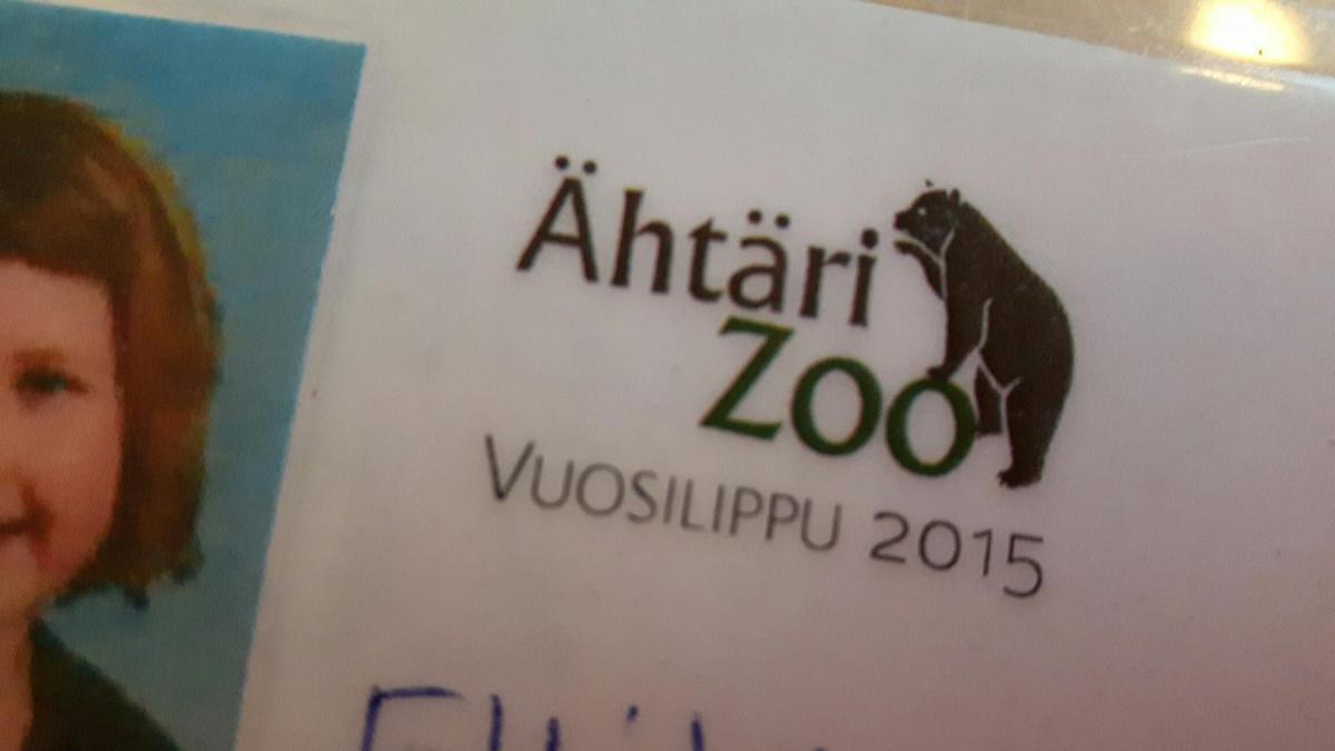 Ähtäri Zoo vuosilippu