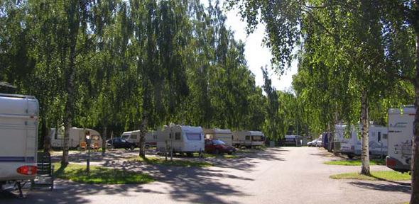 Campingplats för husbil/-vagn