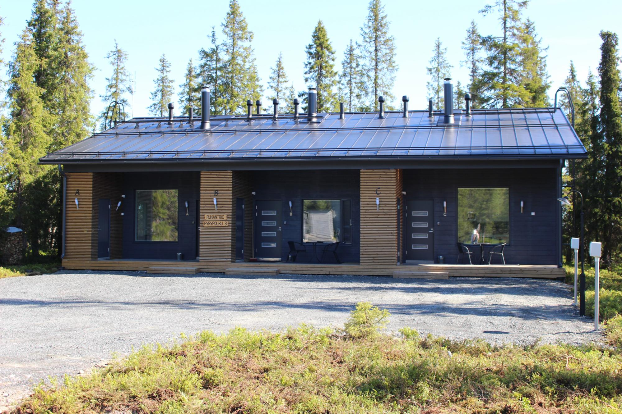 Rukantrio B  47 m2 (2+2 hlö) Itä-Ruka