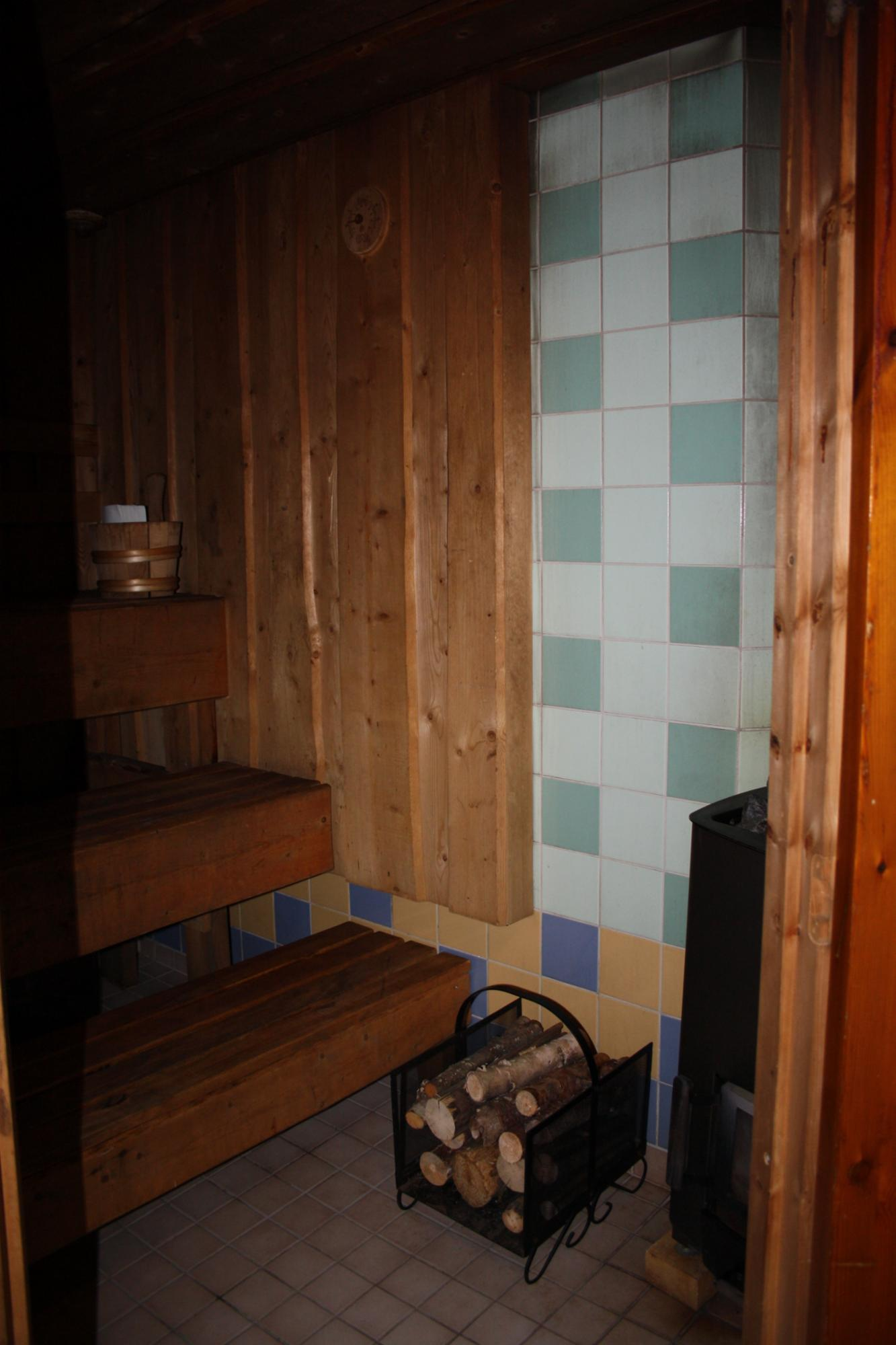 Sauna downstairs
