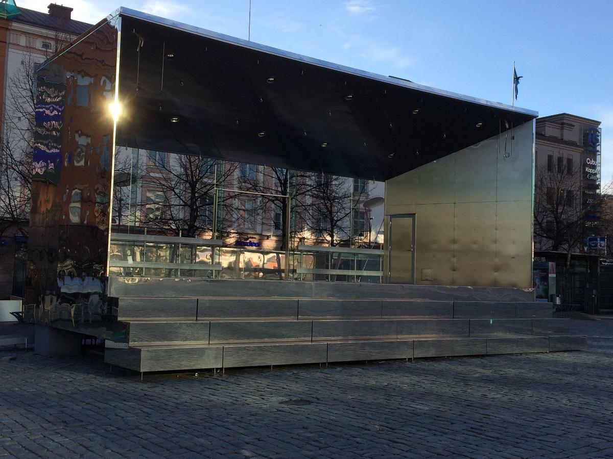 STAGE ON VAASA MARKET PLACE