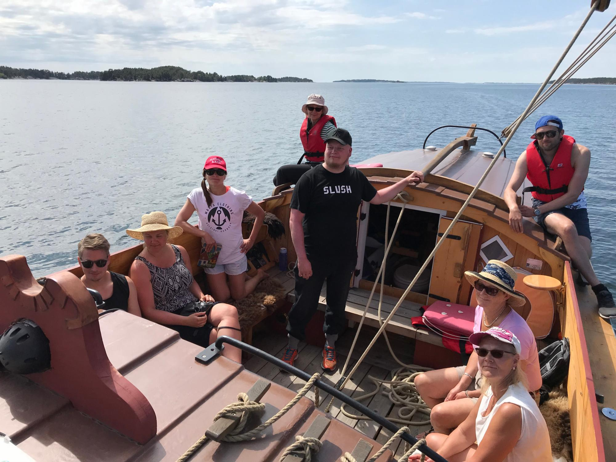Traditional sailing from Nauvo to Hanko or Uusikaupunki
