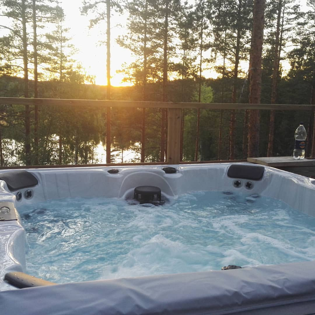 Jacuzzi with extra charge