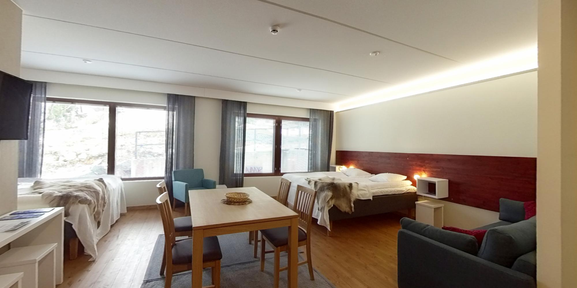 Hotel Arctic Zone room for 6 persons