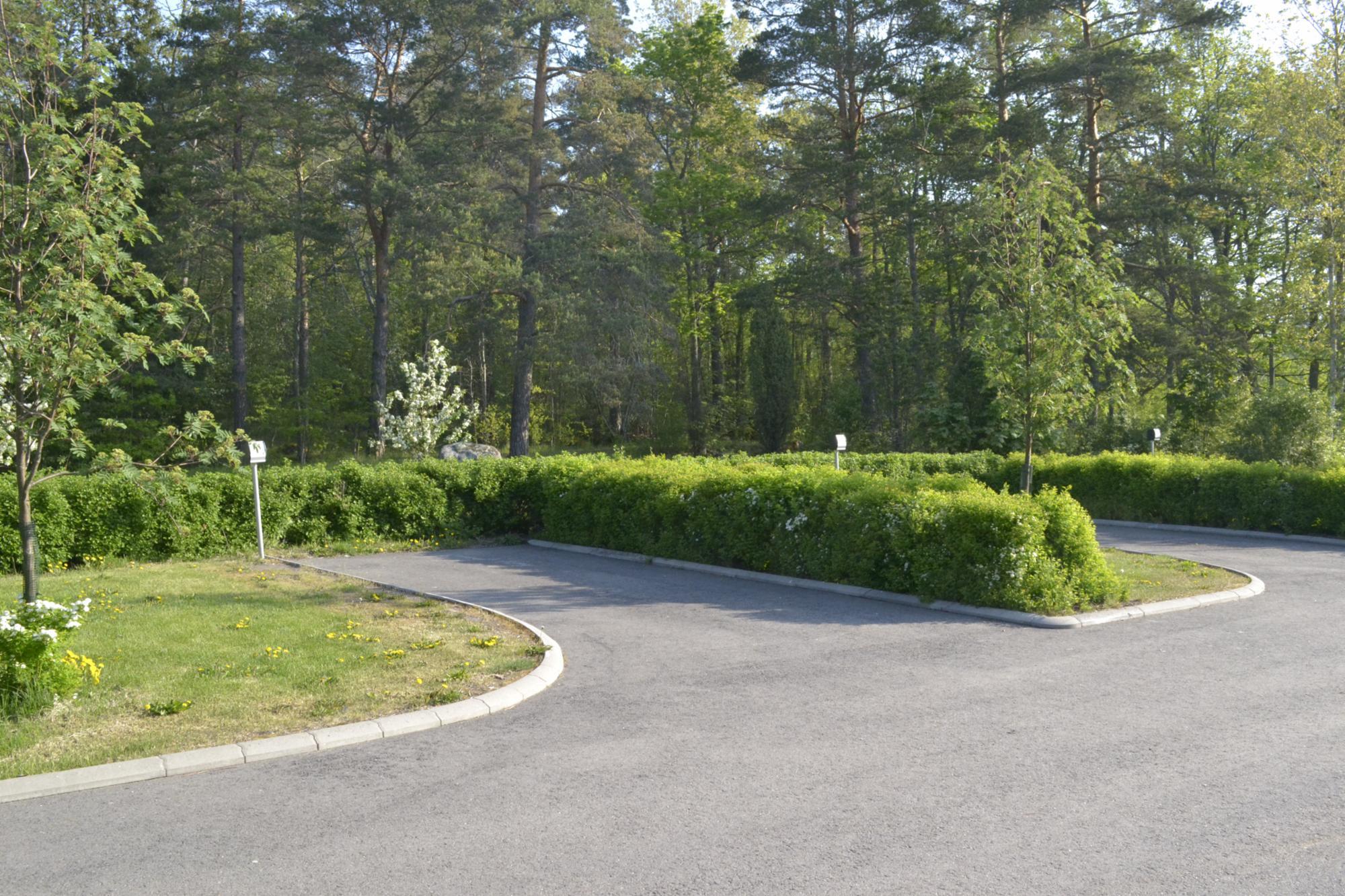 Caravan parking space