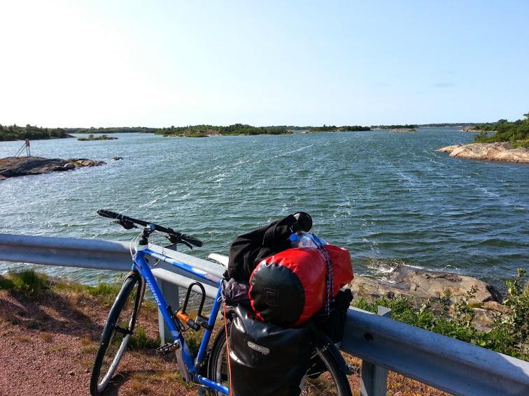 Biking Archipelago Trail shortcut 3 days